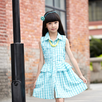 wholesale children's boutique clothing dress for girl