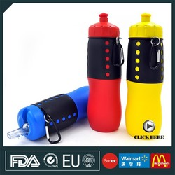 Wholesale 700ML Plastic Drinking Water Bottle Sport Products