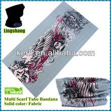 Made in China Plain Headband Hairband Bandana for men Fashion Multifunction skull bandana skull plain Bandana ,LSB107