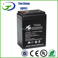 12V 2.8Ah Lead Acid SLA MF VRLA Gel Battery Solar PV UPS Speaker LED light Battery