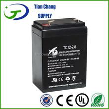 12V 2.8Ah Lead Acid SLA VRLA Gel Battery Solar PV UPS Speaker LED light Battery