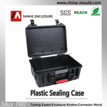 45-17 plastic portable equipment case with handle