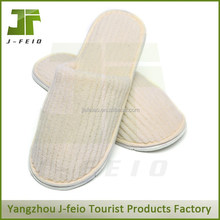 Eco-friendly disposable bedroom slippers for hotel