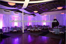 movable stage curtain and curtain stand