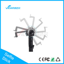 channel Selfie Stick With Bluetooth Shutter Button made in China