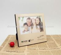 factory direct aluminumr photo frame with black velvet backing