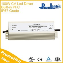 IP67 Grade 100W 72V Constant Voltage Led Driver with Built-in Active PFC