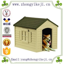 2015 chinese factory custom made handmade carved hot new products resin dogs houses
