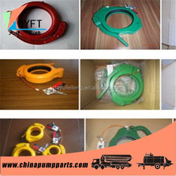 concrete pump clamp coupling of Schwing,PM,Sany,Zoomlion
