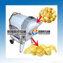 FC-312 Electric Automatic Potato Crisp Making Machine, Potato Crisp Cutting Machine (MOB:86-18902366815)