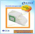 Blanqueado gasa de algodón absorbente no estéril
