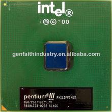 Procesador intel pentium iii 850 mhz, caché de 256k, 100 mhz fsb