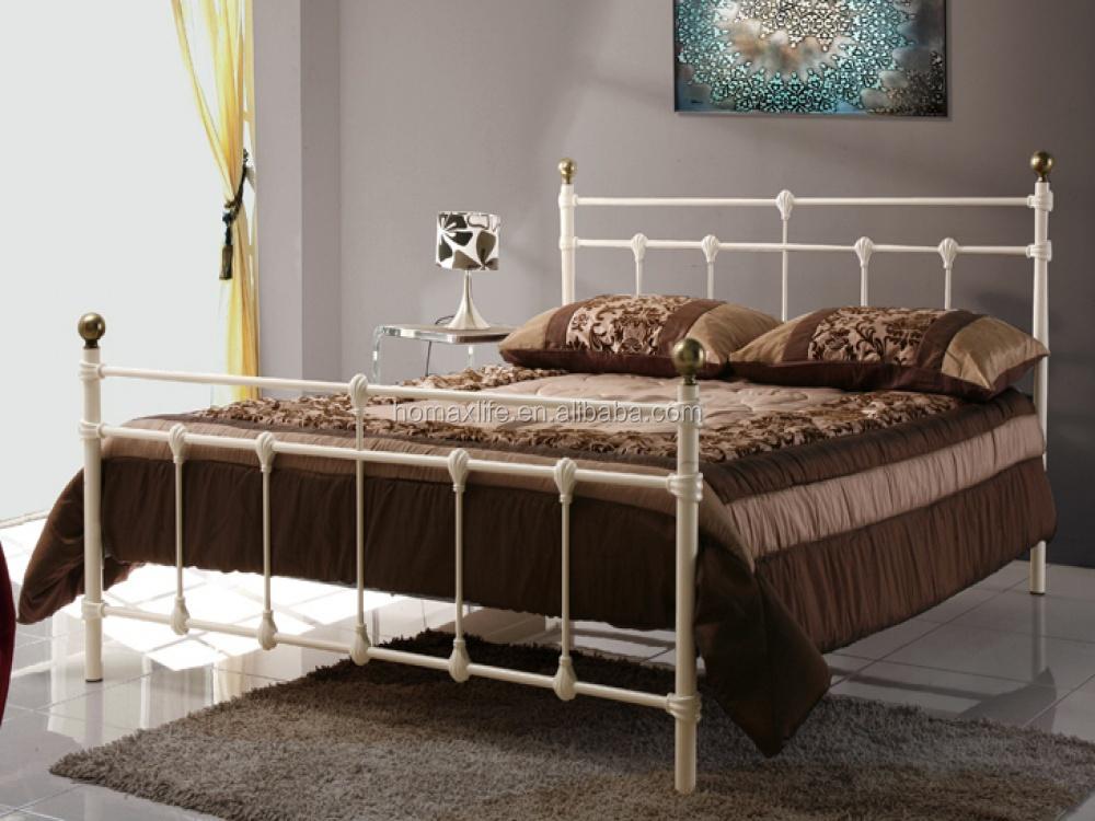 Muebles de hierro forjado de una sola estructura metálica cama bd ...