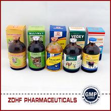 Nnimal health pharmaceutical Vitamin b1 b6 b12 injection for goat production