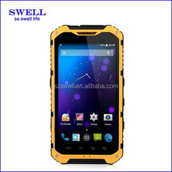 4.3inch IPS Quad core dustproof waterproof shockproof A9 rugged mobile phone