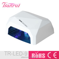 2015 Top Sale 18K LED UV Nail Lamp with Sensor Only 5Second For Nail Polish