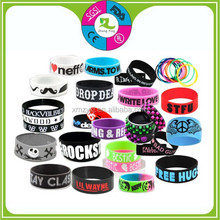 2013 CHEAP custom recycled personalized silicone bracelet