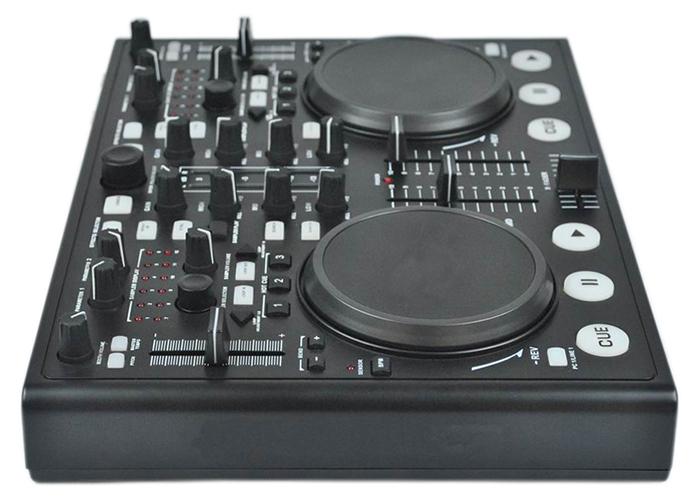 Professional DJ MIDI Controller With Built-in Sound Card DJ Player MIDI-8800