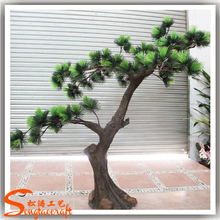 Top quality outdoor artificial pine tree branch/make cheap pine tree