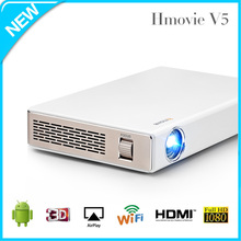 Hot seller !!! Hmovie Android smart Blu-ray 3d video projector 1000 lumen