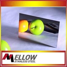 Foshan Mellow Super Mirror Finish Stainless Steel Sheet For Elevator/Escalator