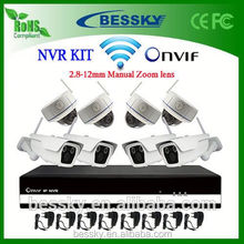 8CH WIFI NVR Kit,ip66 ir color camera,digital micro camcorder,water proof