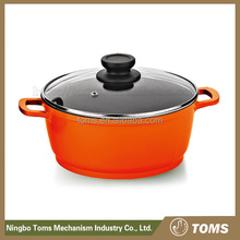 New Design easy for clean Plastic Casseroles Hot Pot