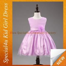 Flower girl vestidos inchado para meninas 13 anos SFUBD-1088