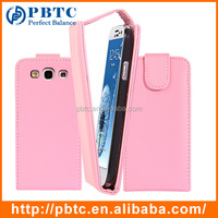 Set Screen Protector Stylus And Case For Samsung Galaxy S3 I9300 , Pink PU Leather Slim Case