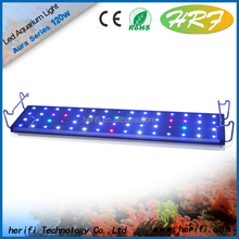 2015 Best sell no fan dimmable marine aquarium led lighting/coral reef used led aquarium light with full spectrum