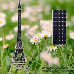 New energy 100W monocrystalline solar panel 18v