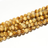 SP3819 Low Price Gold Tiger Eye Precious Stone Round Beads For Wholesale