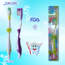 Best selling dolphin kids toothbrush with soft bristle