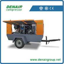 mobile screw 8 bar air compressor For Jordan