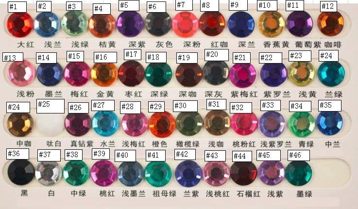 glass crystal bead  charms birthstone bead charms hanging accessories.jpg