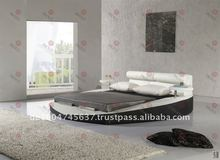LUXURY FURNITURE ROUND LEATHER BED(PC46#)
