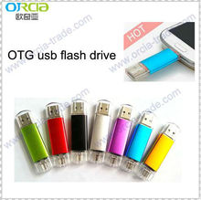 HOT!2013 newest usb OTG usb flash drive 4gb 8gb 16gb 32gb