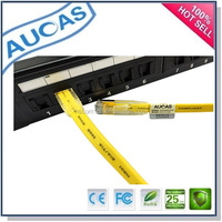 cat6 utp rj45 flat patch cord / Cat7 Shielded 600MHz Ethernet Patch Cable / cat5e ftp sftp network lan flat patch cable