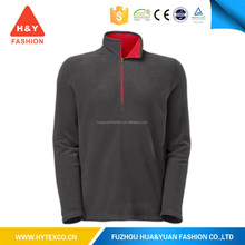 Cheap 1/4-Zip Promotional Man Fleece Jacket Winter Garment--7 years alibaba experience