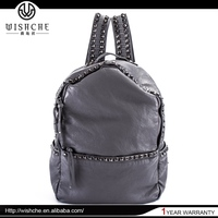 Wishche Opening Sale New Design Cheap Trendy Backpack Bag Wholesale Manufacturer W005