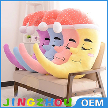 Baby Cute Music Multifunction Toy Kid Crib Round the Bed Hanging toy Star Moon Toys Blue SV009422