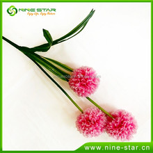Handmade decorative pu artificial flower