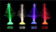 LED fiber colorful lanterns E27 fiber all over the sky star Christmas tree, Christmas color small night lights
