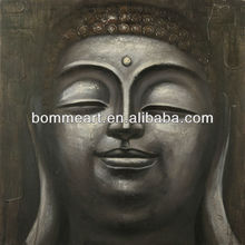 Handpainted indian buddha oil paintings on canvas