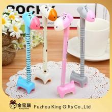 New model horse shape plastic ball pen
