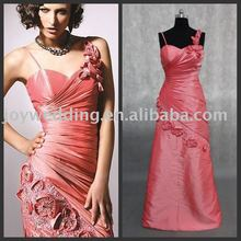 R0273 real sample beading taffeta prom cocktail dress