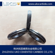 good roundness of tungsten carbide roller suitable for smooth and ribbed wire