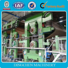 1880mm reasonable price paper making machine for label paper of all kinds of the good/commodity