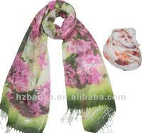 New European fashion Acrylic printed Cheap Scarves
