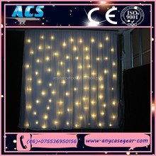 ACS Event Pipe and Drape, wedding backdrop, led stage curtain for sale